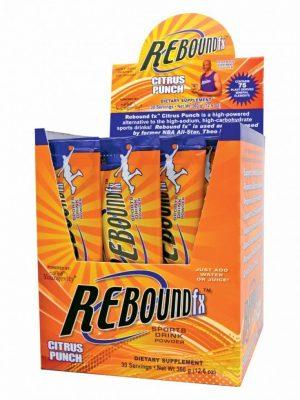 Rebound Fx On The Go Pouches Citrus Punch 30ct Box