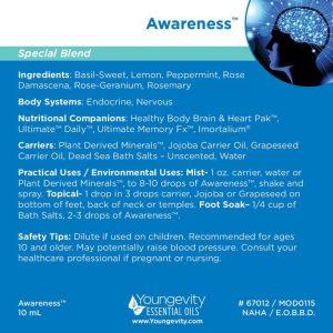 Awareness Essential Oil Blend 10ml