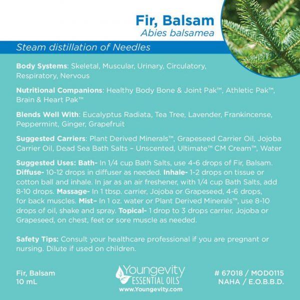 Fir Balsam Essential Oil 10ml
