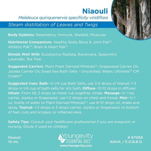 Niaouli Essential Oil 10ml