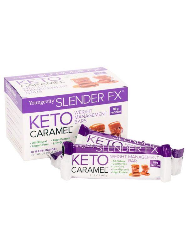 Slender FX Keto Caramel Bars (10 ct)