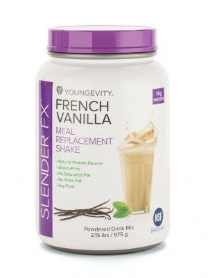 Slender Fx Meal Replacement Shake French Vanilla