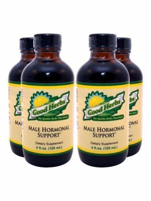 Male Hormonal Support 4oz (4 Pack)