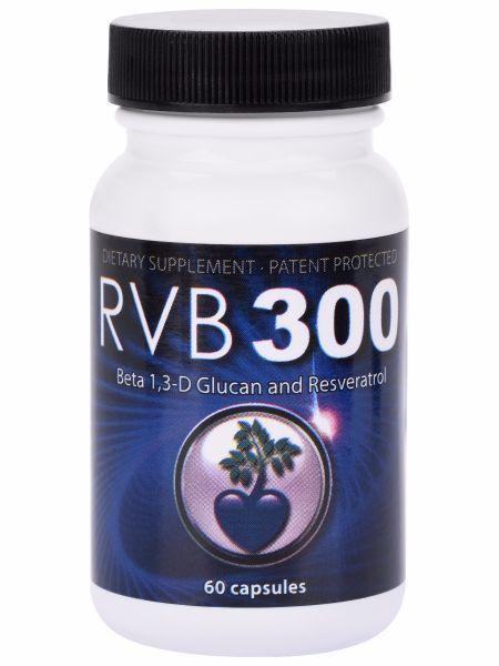 RVB300 Beta 1,3 D Glucan Resveratrol