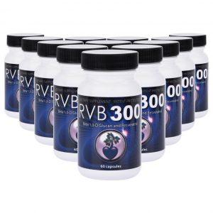 RVB300 Beta 1,3 D Glucan Resveratrol (12 Pack)