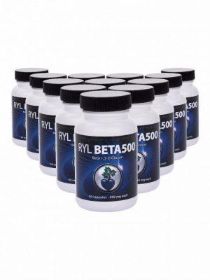 RYL Beta500 Beta 1,3 D Glucan (12 Pack)