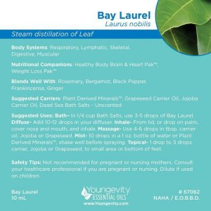 Bay Laurel Essential Oil 10ml
